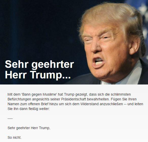 Anti-Trump-Kampagne 22