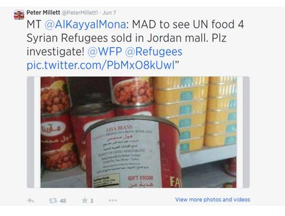 Dose des britischen Botschafters in Jordanien
