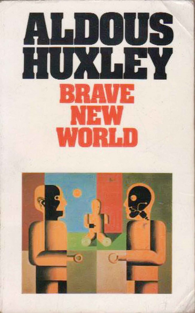 HUXLEY-Brave-new-world-Buch