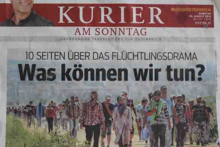 KURIER-Heuchelei