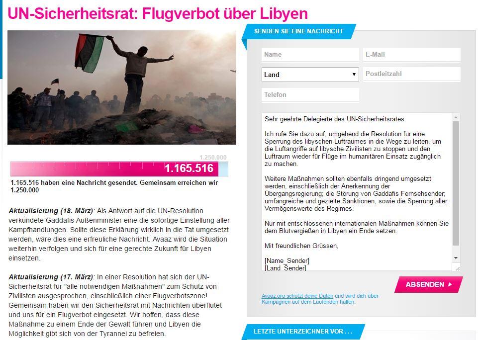 Libyen Flugverbotszone 3