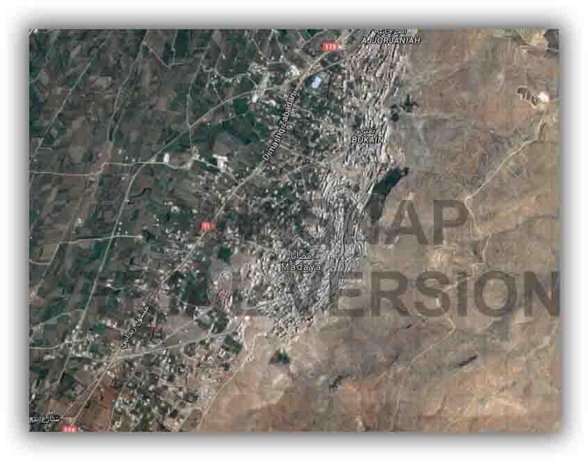 Madaya Google Maps 1