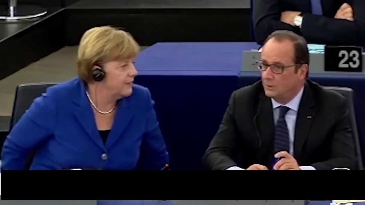 Merkel & Hollande