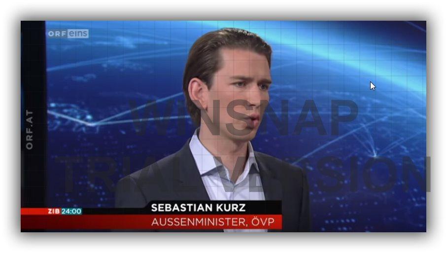 Sebastian Kurz - selbsternannter Europaminister