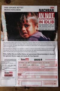 Spendenaufruf Nachbar in Not 1