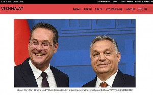 Strache - Orban Screenshot
