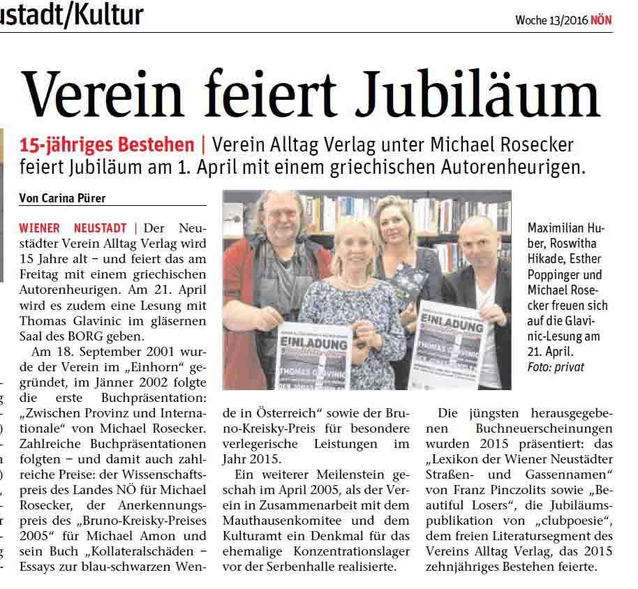 VAV-Jubiläum