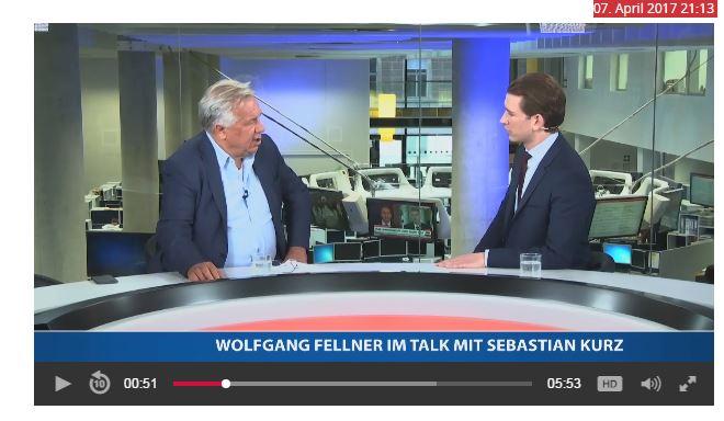 Wolfgang Fellner & Sebastian Kurz