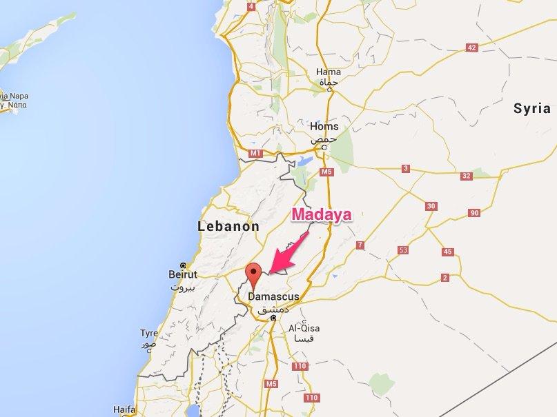 madaya-map